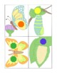 Shape Matching Cards Games Activities PDF Printable Butterflies and Moths