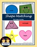 Shape Matching File Folder Activity