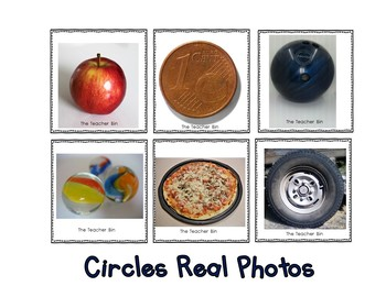 Special Education- Kindergarten- Math- Shape Matching Game-Real Objects