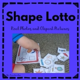 Shape Matching Game-Real Photos and Clipart Pictures