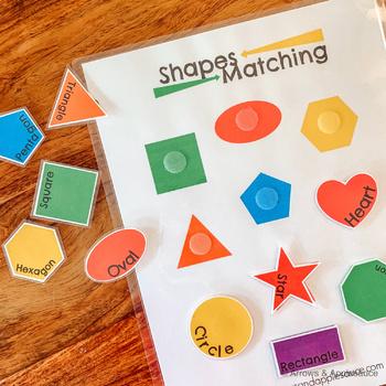 Shape Matching Game