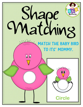 Shape Matching Mats and Cards
