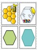 Shape Matching Partner Puzzle Piece Cards
