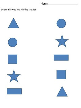 Shape Matching, Patterning, and Counting