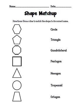 Shape Matchup
