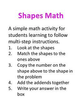 Shape Math