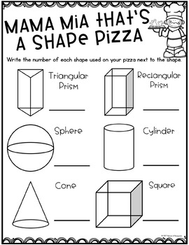 Shape Math Craft