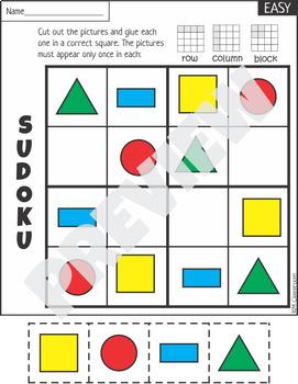 Free Sample 2D Shapes Worksheets