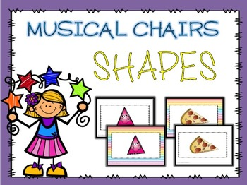 Shapes Musical Chairs Game