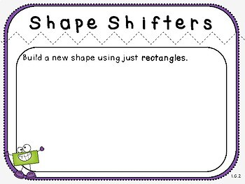 Shape Mats (First Grade, 1.G.2)