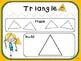 Shape Mats (Kindergarten Geometry Activity, K.G.5)