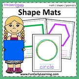 Shape Mats - Hands-on Activity {Common Core}