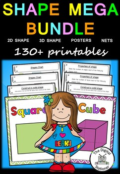Shape MEGA Bundle – 130+ printables