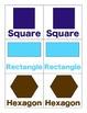 Shape Memory 2D and 3D Shapes for Kindergarten