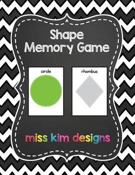 Shape Memory Game