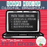 Shape Mix-Up Digital Math Breakout