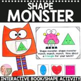 Shape Monster - An Interactive Book