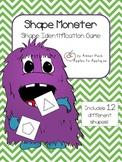 Shape Monster Activity