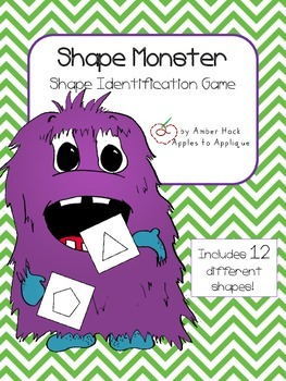 Shape Monster Activity