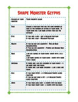 Shape Monster Bioglyphs