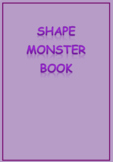 Shape Monster Book