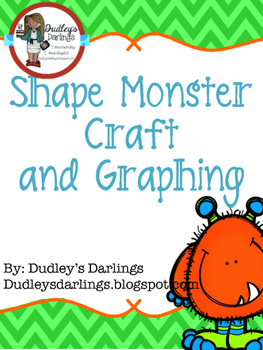 Shape Monster Craft and Graph