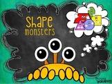 Shape Monster Craftivity