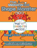 Shape Monster Emergent Reader