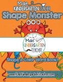 Shape Monster Emergent Reader