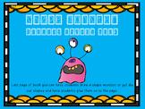 Shape Monster Tracing Book Freebie