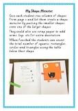 Shape Monsters Maths