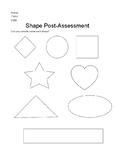 Shape Naming Post-Assessment