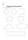 Shape Naming Pre-Assessment