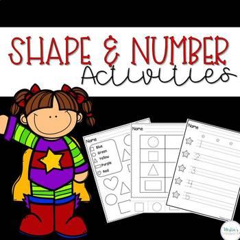 Shape & Number Activities