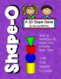 Shape-O!  (A 3D Shape Bingo Game)
