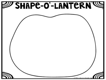 Shape-O'-Lantern: Craftivity to Reinforce Shape Identifcation