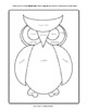 Shape Owl—A Quick Art Activity to Explore Shapes