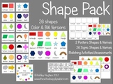 Shape Pack: 26 2D Shapes {A Hughes Design}