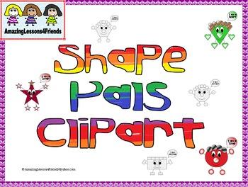Shape Pals Clipart