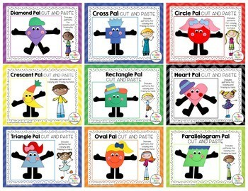 Shape Pals Cut and Paste Set