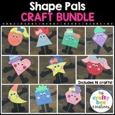 Shape Crafts Bundle {Shape Pals}