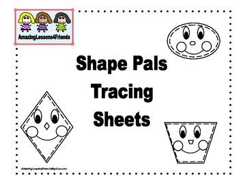 Shape Pals Tracing Sheets