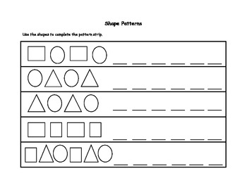 Shape Pattern Matching Game