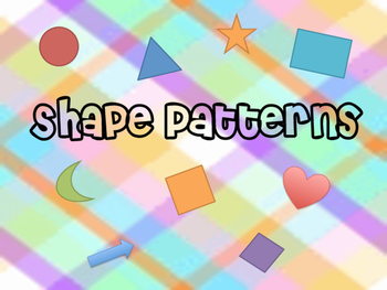 Shape Pattern Pages