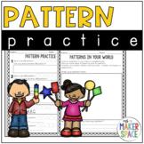 Shape Pattern Practice - Math