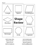 Early Math Skills Shapes & Patterns