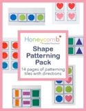Shape Patterning Pack for Preschool-1st Grade