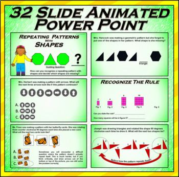 Shape Patterns - Animated Powerpoint