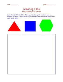 Shape Patterns Creating Tiles