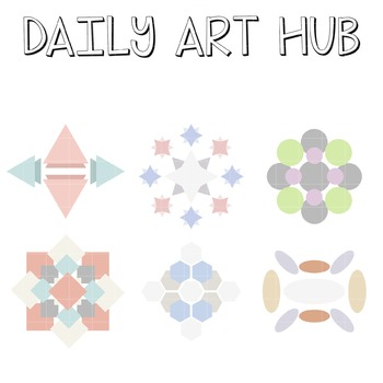 Shape Patterns - Great for Art Class Projects!